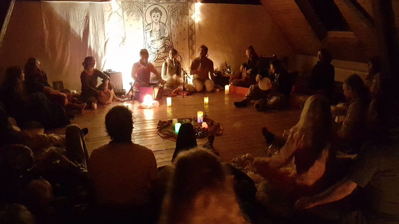 Kirtan day and night #1, Germany